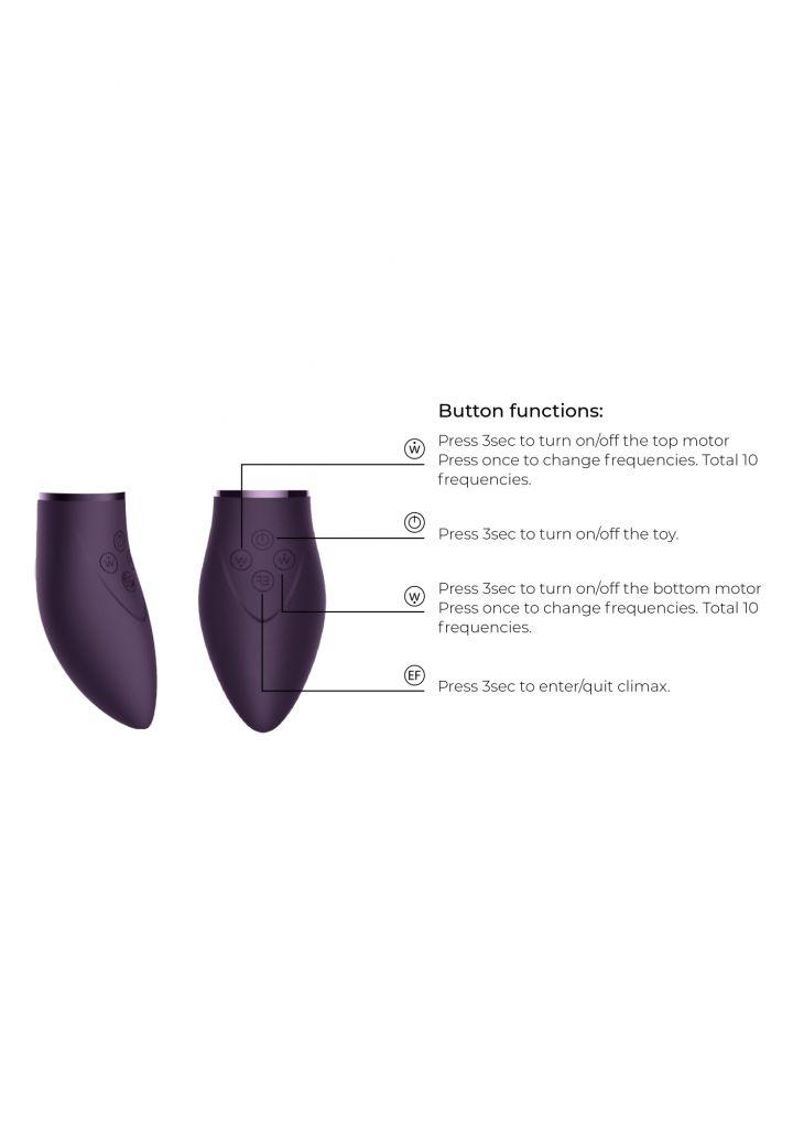 Shots Switch Pleasure Kit 3 purple sada stimulátorů