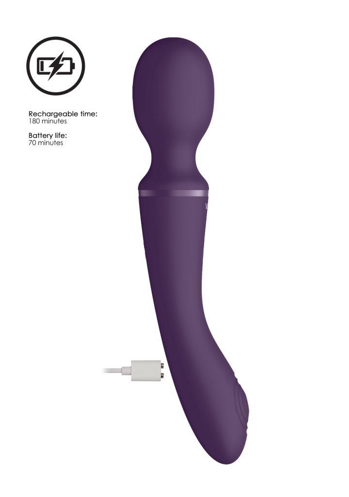 Shots - VIVE Enora Purple Masážní hlavice