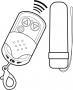 Shots Toys Vibrating Remote Bullet black vibrační vajíčko na dálkové ovládání, fotografie 4/9