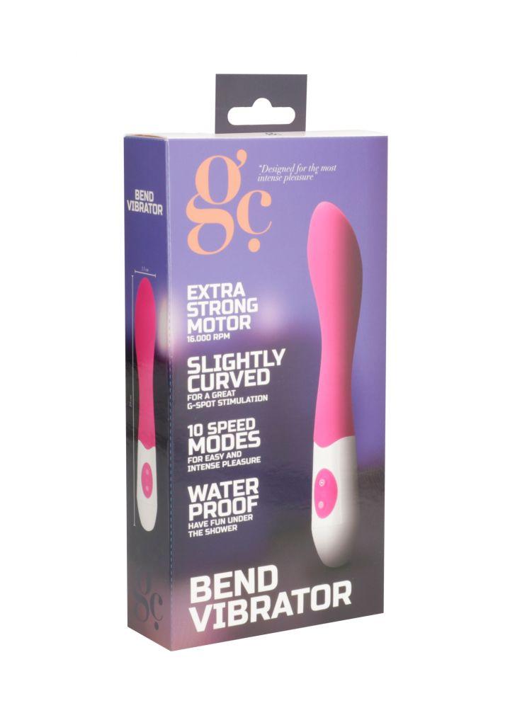 SHOTS GC BEND Pink vibrátor