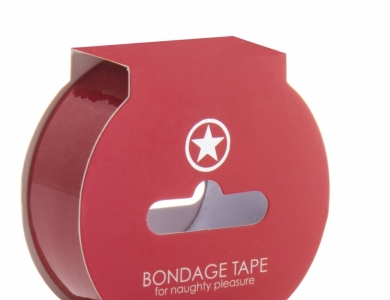Ouch! Bondage Tape red 17,5 m - Shots