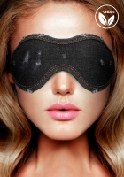 Ouch! Denim Eye Mask Black maska na oči - Shots