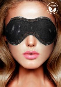 Ouch! Denim Eye Mask Black maska na oči - Shots