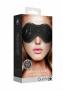 Ouch! Denim Eye Mask Black maska na oči - Shots, fotografie 5/5
