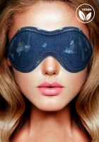 Ouch! Denim Eye Mask Blue maska na oči - Shots