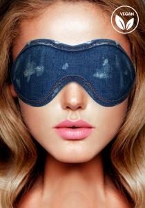 Ouch! Denim Eye Mask Blue maska na oči - Shots