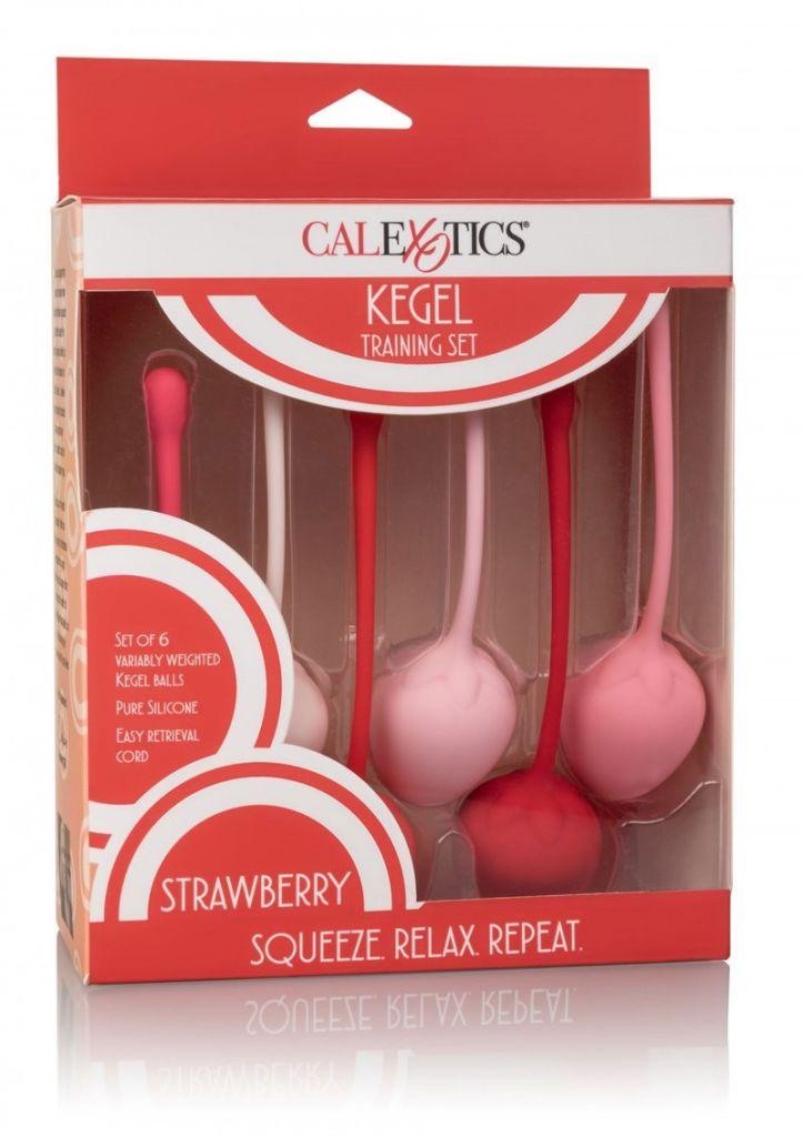 Calexotics Kegel Training Set Strawberry 6 ks