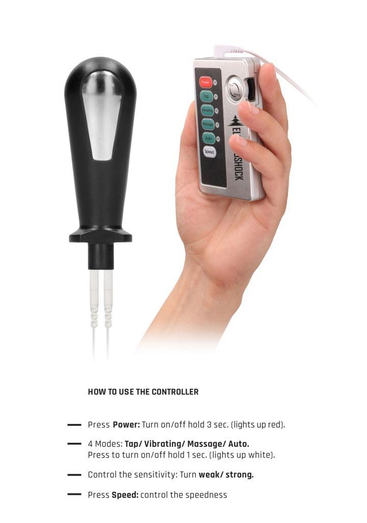 Shots ElectroShock E-Stim Butt Plug