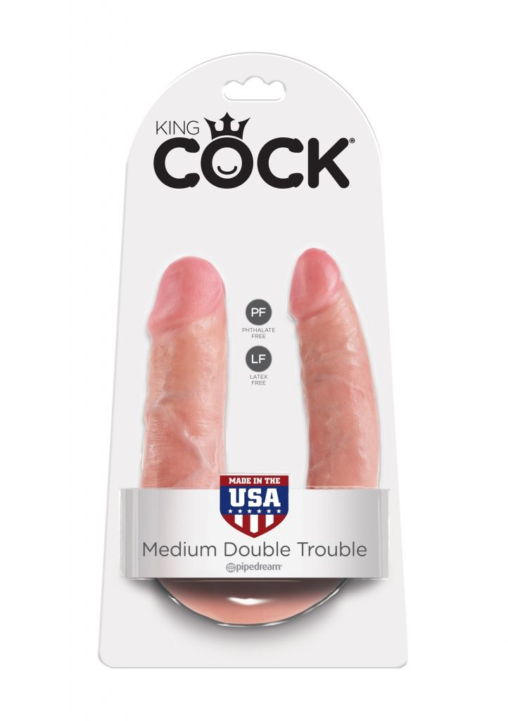 Pipedream - King Cock Medium Double Trouble