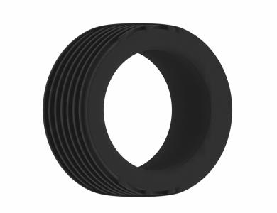SONO No.42 Cockring Black erekční kroužek - Shots