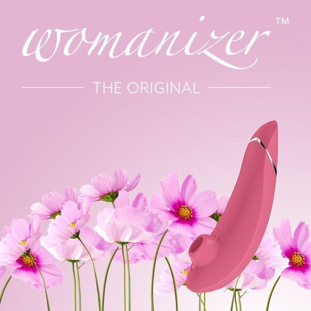Womanizer Premium Raspberry stimulátor klitorisu