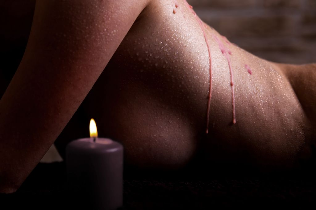 Shots - Ouch! Wax Play Candle Chocolate Scented