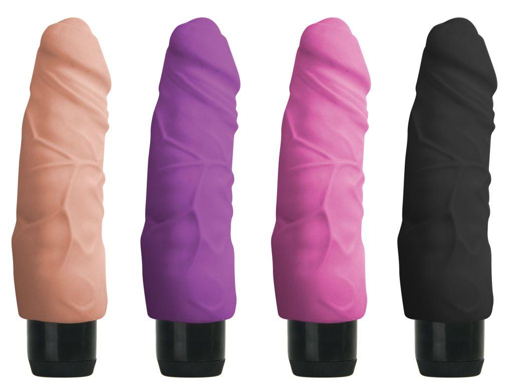 Shots Realistic Skin Vibrator Big pink - realistický vibrátor