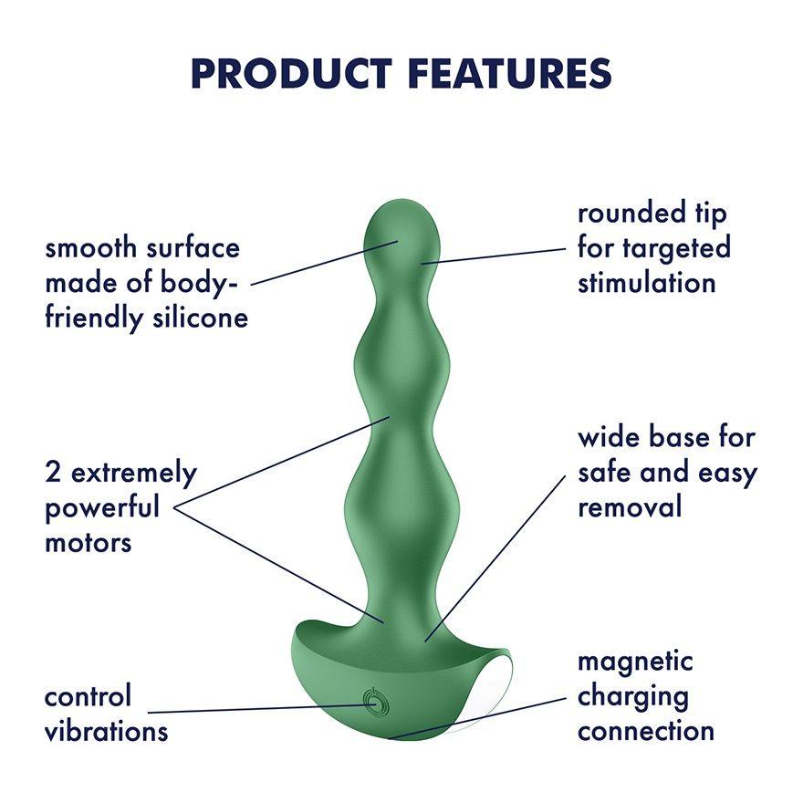 Satisfyer Lolli Plug 2 zelená anální kolík