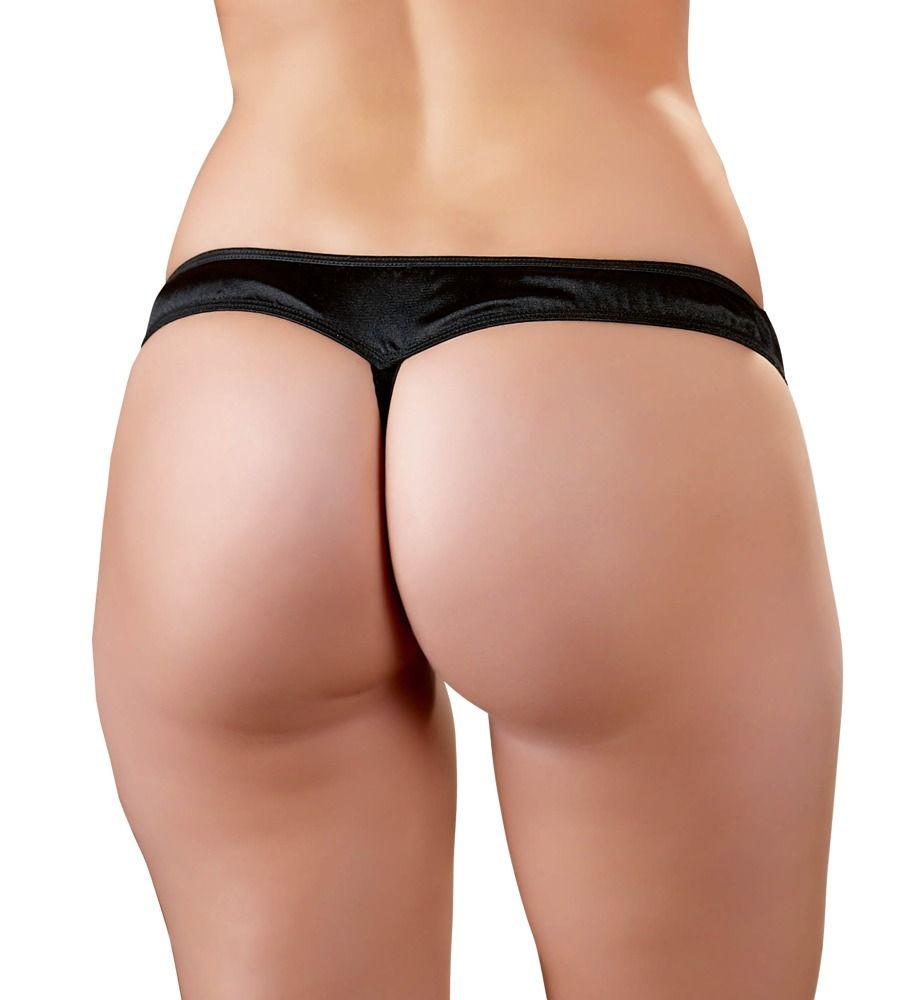 Cottelli Lingerie - Kalhotky s otevřeným rozkrokem vel. M