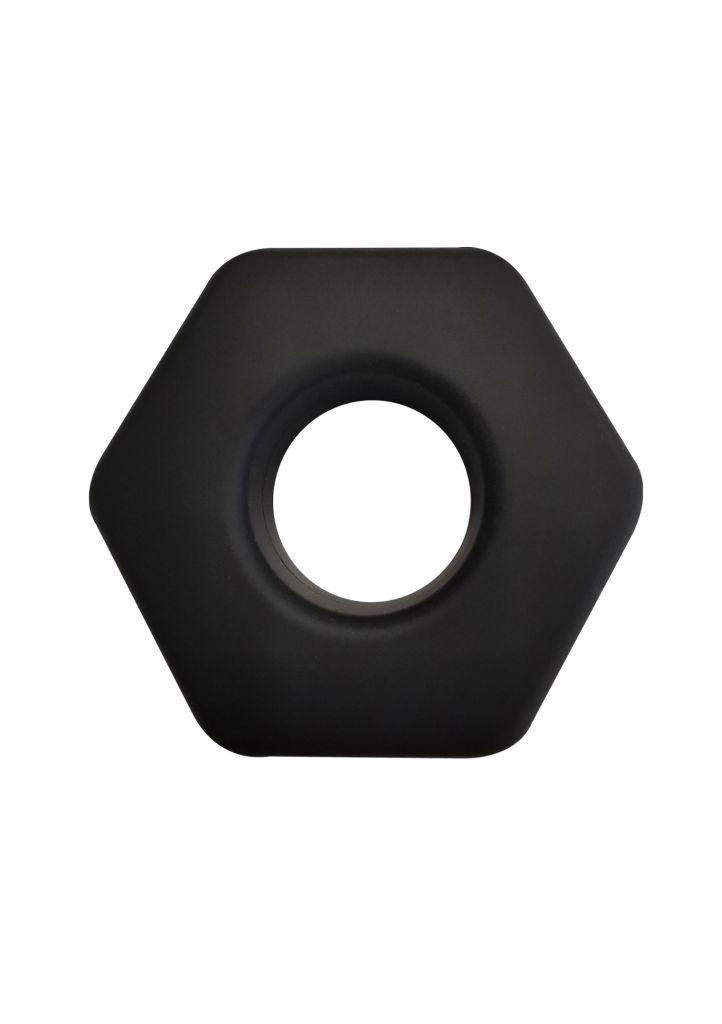 Hidden Desire - Soft Silicone Hunk C-Ring erekční kroužek