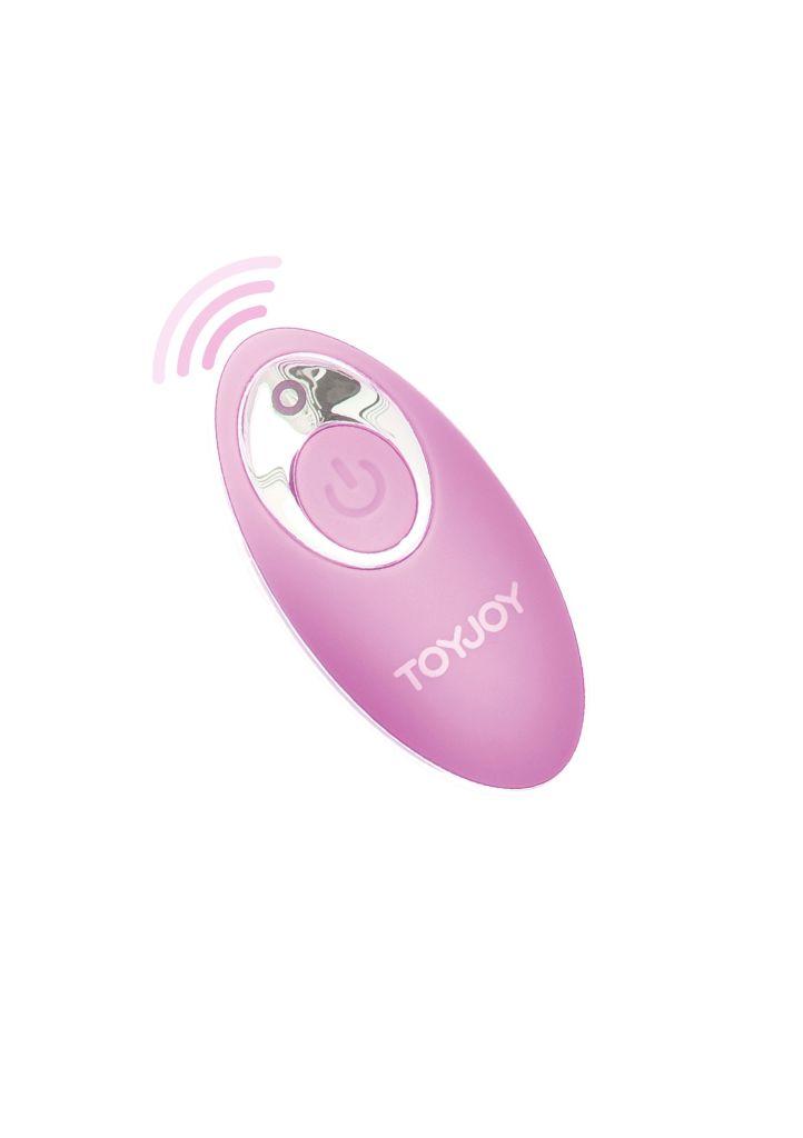 ToyJoy You Crack Me Up pink vibrační vajíčko