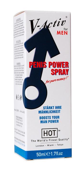 HOT V-Activ Penis Power spray afrodiziakum pro muže