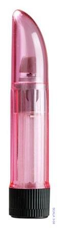 Vibrátor Ladyfinger kabelkový transparentní růžový - Seven Creations