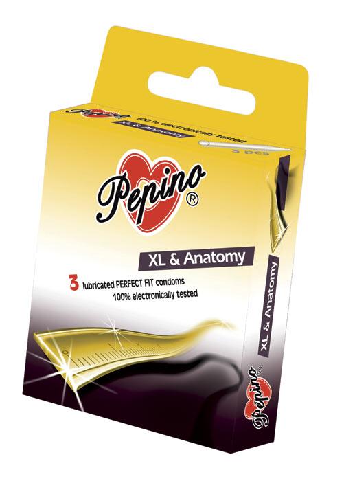 Kondomy Pepino XL Anatomy