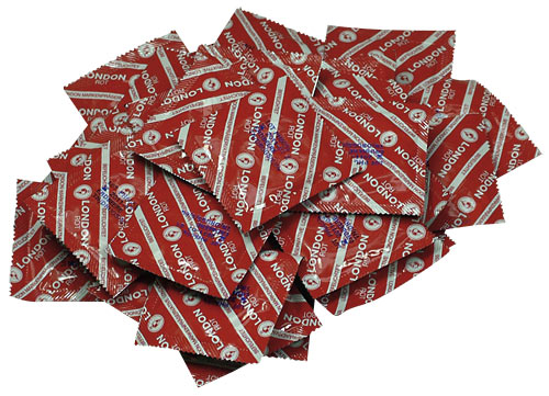 Kondomy London Red 100ks - Durex