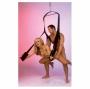 Erotická houpačka Fantasy Swing - Můžete ji použít i pro orální sex, partnera nebo partnerku budete mít jako na dlani.