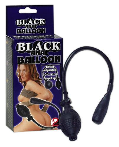 Anální kolík Black anal Baloon - You2Toys