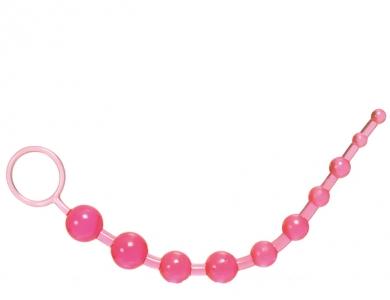 Calexotics X-10 Beads pink anální kuličky