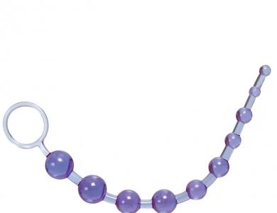Calexotics X-10 Beads purple anální kuličky