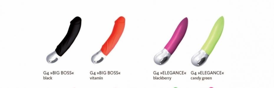 Novinka 2011 od Fun Factory cela nová generace vibrátorů slibující spoustu legrace G 4 Click 'n' Charge
