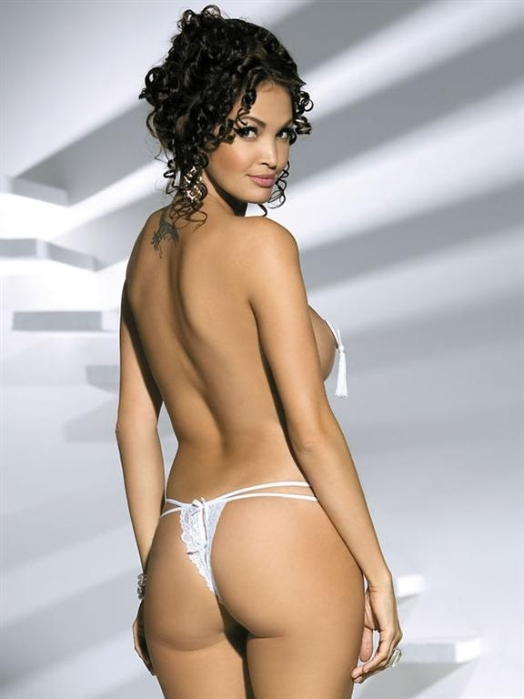 Tanga Obsessive Brilliant thong white