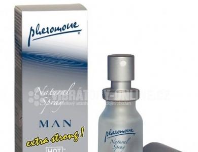 HOT Man Twilight Natural Spray extra strong 10 ml Feromonový parfém pro muže