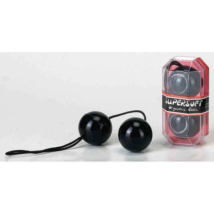 Venušiny kuličky PVC Duotone Balls black - Seven Creations
