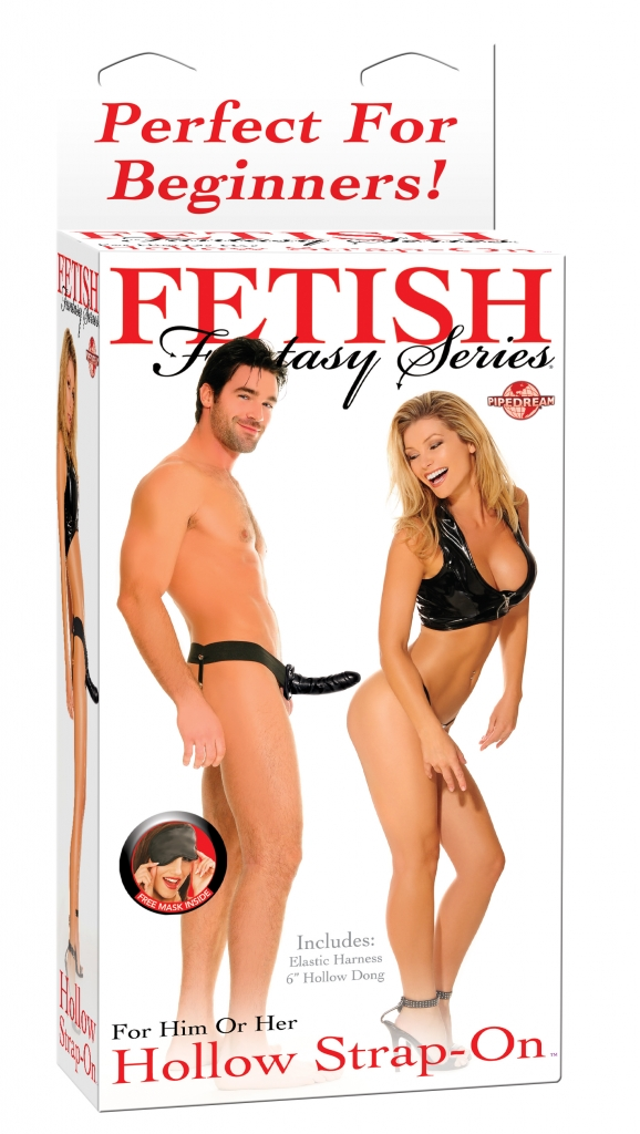 "Fetish Fantasy Hollow 6"" strap-on - Pipedream"