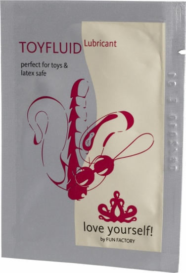 Lubrikační gel Toyfluid Sachets 4 ml - Fun Factory