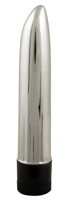 Vibrátor Ladyfinger stříbrný - Seven Creations