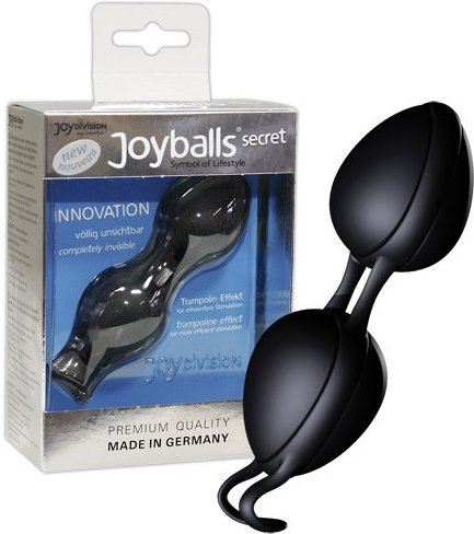 Venušiny kuličky Joyballs Secret Black & Black - JOYDIVISION, fotografie 5/4