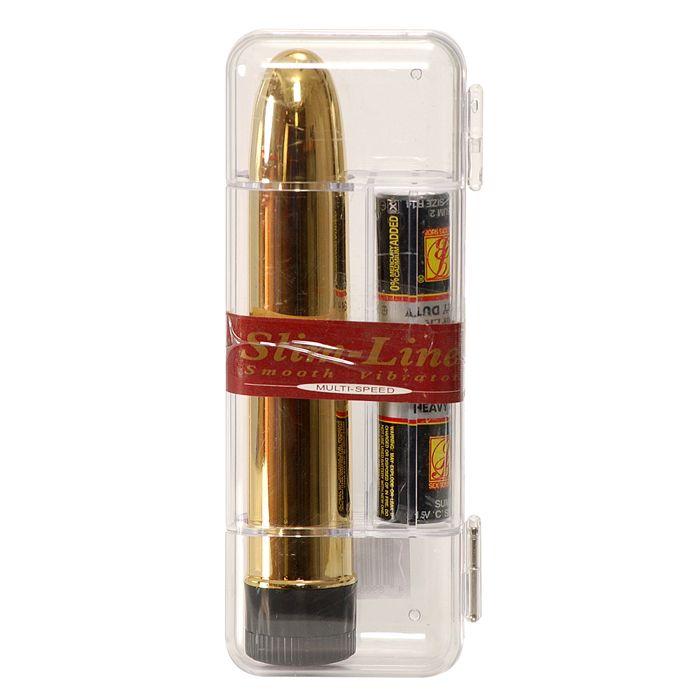 Seven Creations Slim-Line gold vibrátor