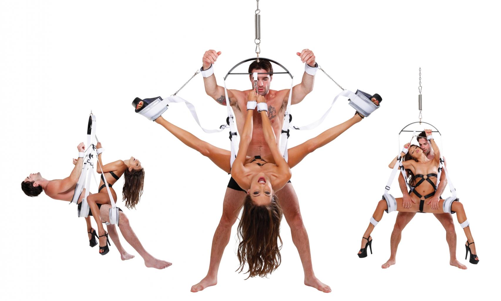 Fetish Fantasy Bondage Swing erotická houpačka - Pipedream, fotografie 1/4