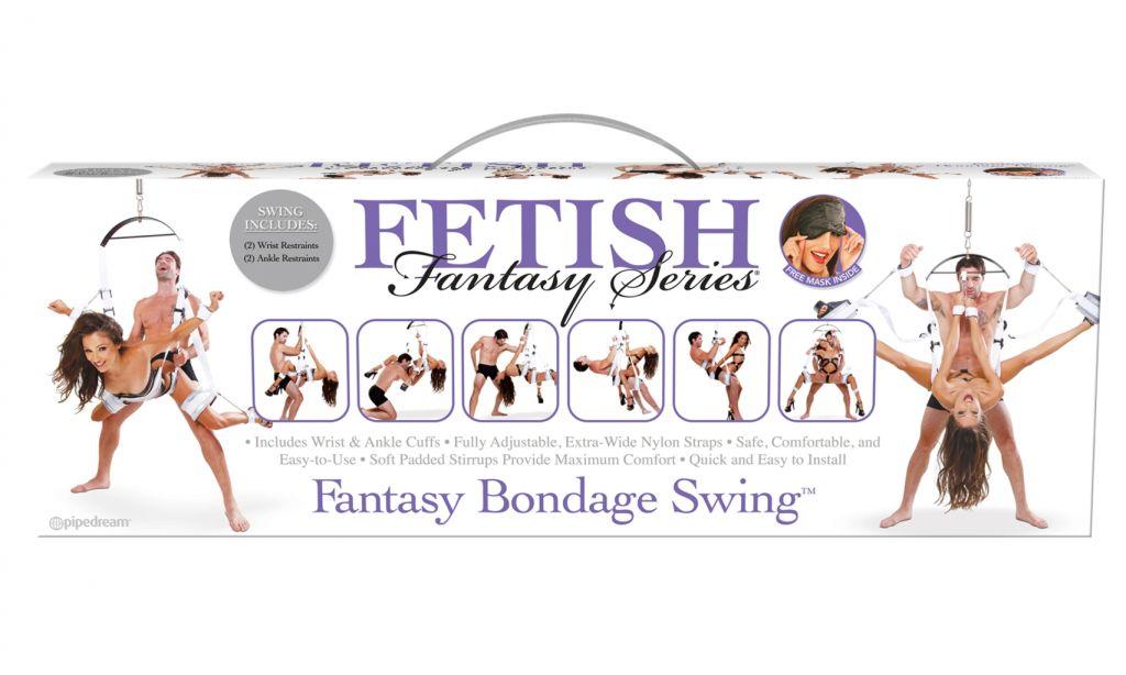 Pipedream Fetish Fantasy Bondage Swing erotická houpačka