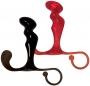Power Plug Prostate Massager je červený anální kolík k dráždění prostaty.