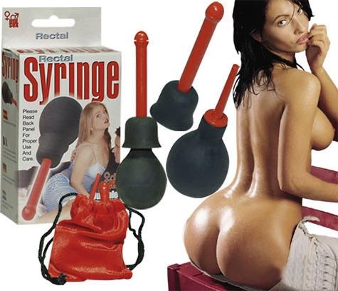 Sprcha anální Rectal Syringe - Seven Creations