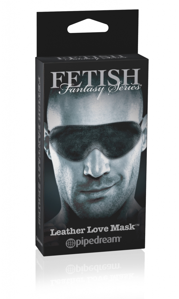 Maska na oči Leather  Love Mask - Pipedream