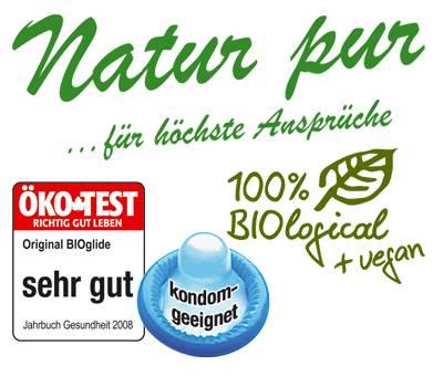 Lubrikační gel BIOglide safe je 100% bio lubrikační gel s obsahem Carragenu. 100% kompatibilní s kondomem