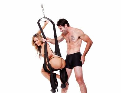 Pipedream Spinning Fantasy Swing erotická houpačka