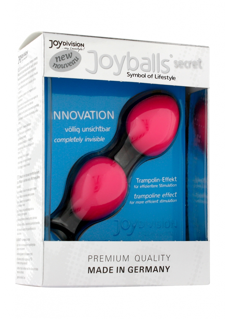 Venušiny kuličky Joyballs Secret Pink & Black - JOYDIVISION, fotografie 7/5