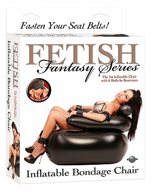 Nafukovací křeslo s pouty - Bondage Chair - Fetish Fantasy - Pipedream