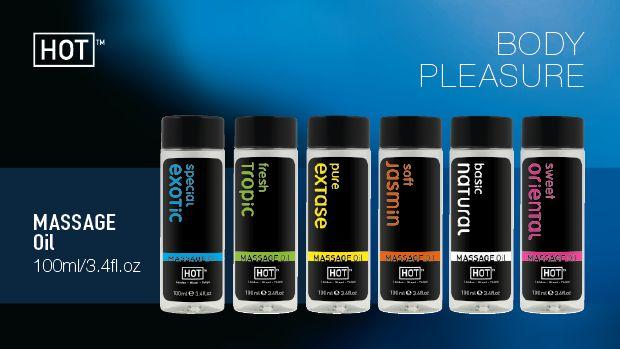 Masážní olej HOT pure extase 100ml