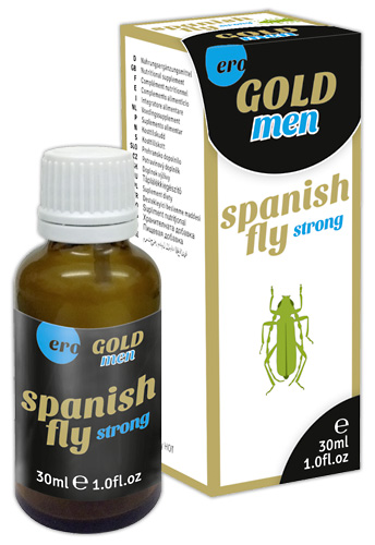 Spanish Fly Gold Men 30ml Afrodiziakum - HOT