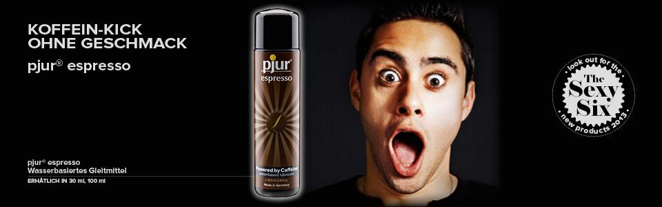 Pjur Espresso - dávka energie pro Vaši erotickou stimulaci - Powered by Coffeine!